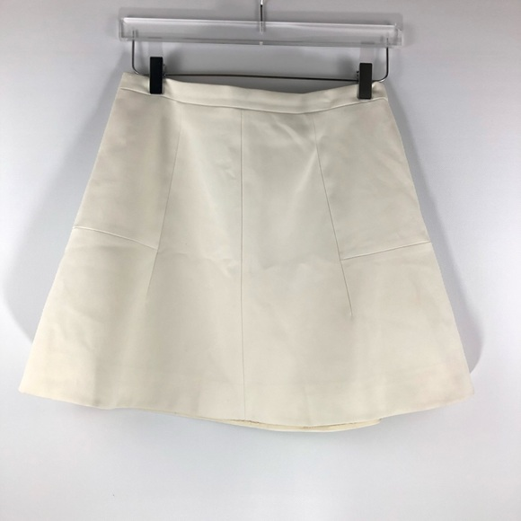 J. Crew Dresses & Skirts - J. Crew • Cream classic skater skirt